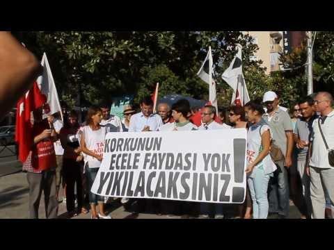 İşçi Partisi Manisa İl Örgütü ve TGB Manisa Basın Açıklaması