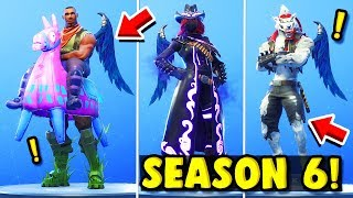 PASS SEASON 6 SHOPPED EVERYTHING, LAST SECRET SKIN!! Fortnite ITA