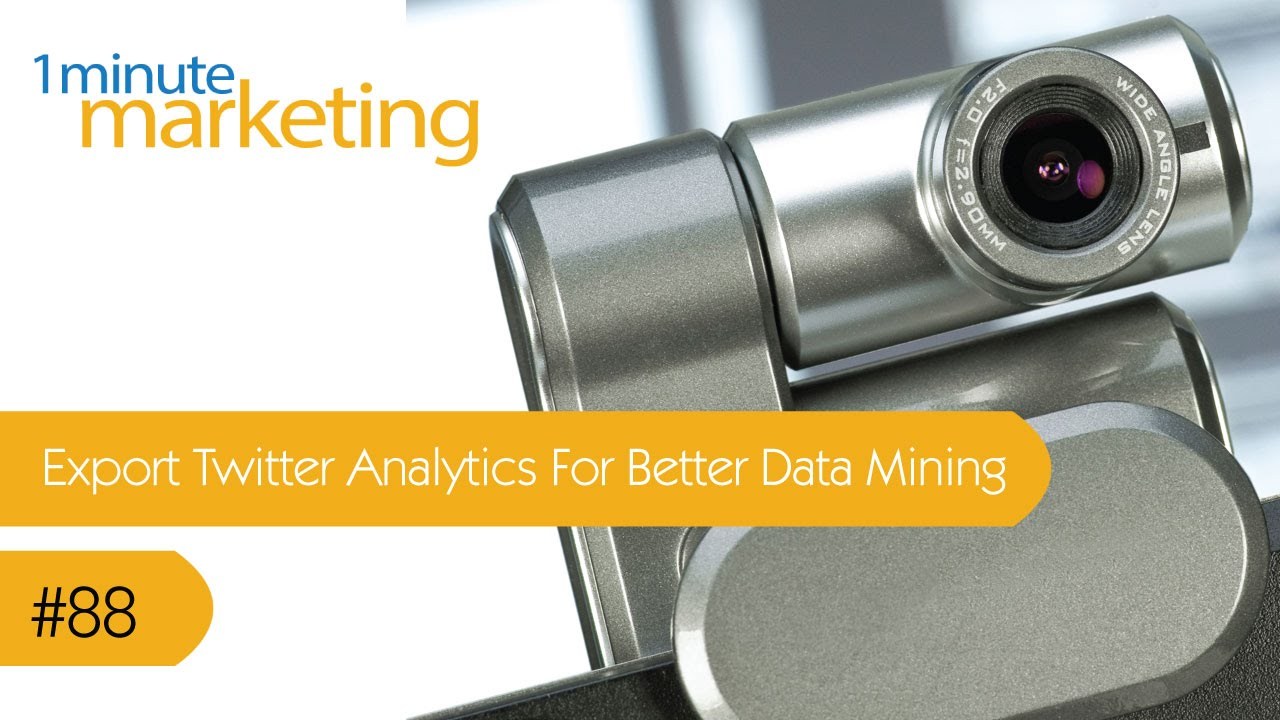 Export Twitter Analytics For Better Data Mining