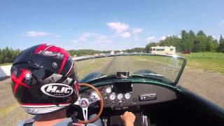 FFR Mk4- Electric car - First day at the drag strip