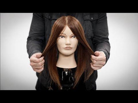 How To Cut A Face Frame Haircut Tutorial + NEW SCISSOR Review!! MATT ...