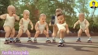New WhatsApp status video || Baby dance on bum diggi diggi || 2018