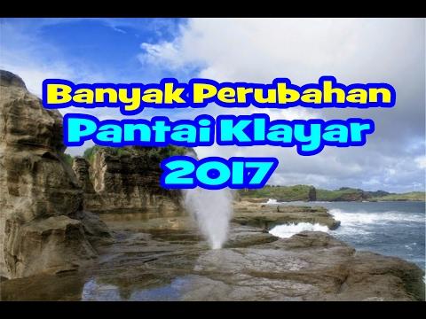 Pantai Klayar Pacitan 2017 Sudah banyak Perubahan
