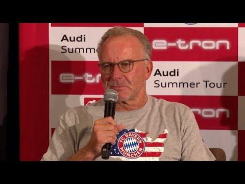 "Rummenigge bangt um CL-Platz: ""Bundesliga muss sich anstrengen"""