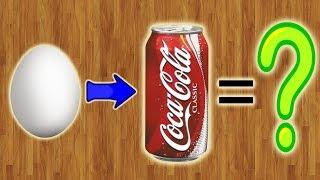 Что будет, если опустить яйцо в Coca-Cola на 6 месяцев???