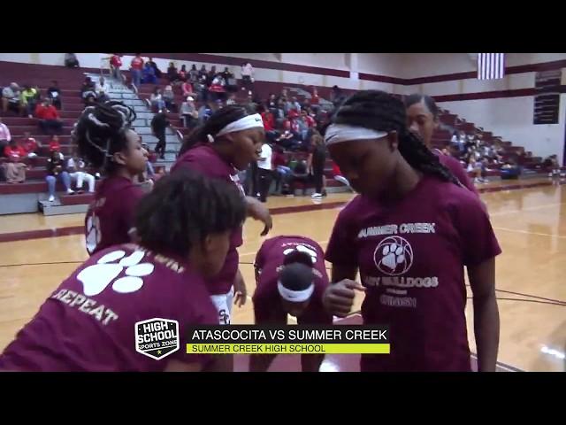 Atascocity vs Summer Creek Girls Basketball