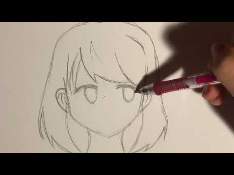 How To Draw: Anime School Girl