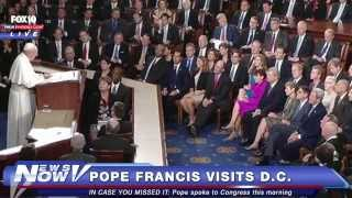 FNN: Pope Francis in DC - Visits St. Patrick's Catholic Church, Gives Historical Speech to Congress