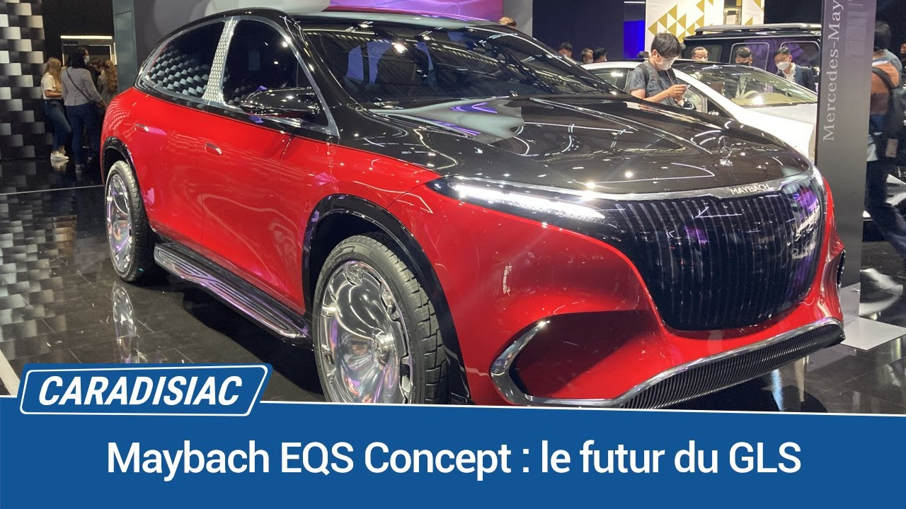 Maybach EQS Concept: The future of the GLS – Live from Munich 2021 – Carradisiac