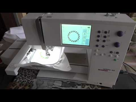 Bernina Artista 165 Test Stiching / Test Sticken