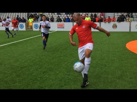Hundreds of Homeless People Play Street Soccer at the Homeless World Cup in Oslo.