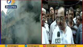 Major Fire | at Bagri Market | in Kolkata's Canning Street | 30 Fire Engines on Spot