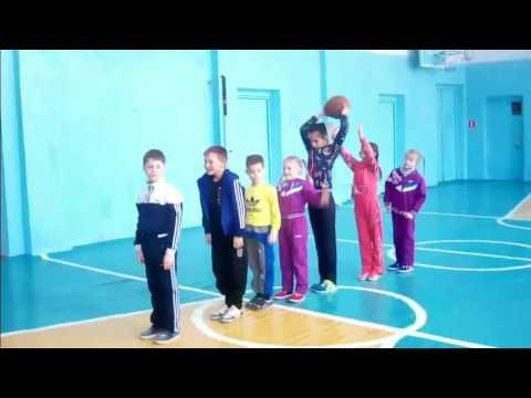 Урок физической культуры по разделу программы подвижные игры баскетбол ФГОС   21 век