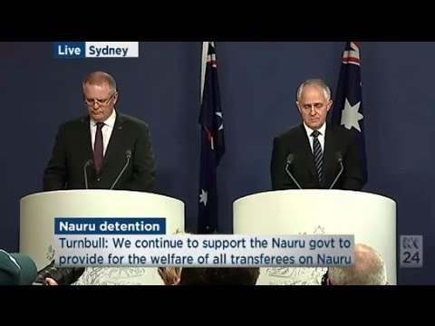 Incident reports are not fact: Malcolm Turnbull & Scott Morrison respond to the Nauru files