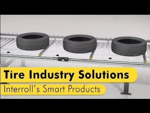 Interroll's smart products for the tire industry