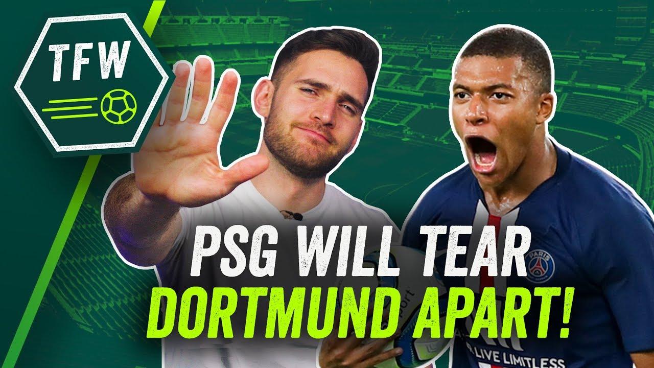 Champions League: Paris Saint-Germain Overcome Dortmund And ...