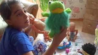 Куклы.Видео куклы  .Куклы для девочек.Девочка играет в куклы.