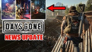 DAYS GONE RELEASE DATE FINALLY CONFIRMED! + NEW LEAKED PHOTOS  AND NEW GAMEPLAY LEAKED AT PSX!