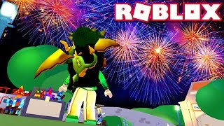 Let's Set off Fireworks!! NEW FIREWORKS UPDATE - Roblox MeepCity/Meep City - DOLLASTIC PLAYS!