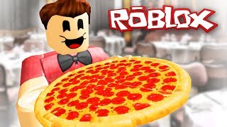Roblox - Work at Pizza place 2. rész ♥ Janával ;)