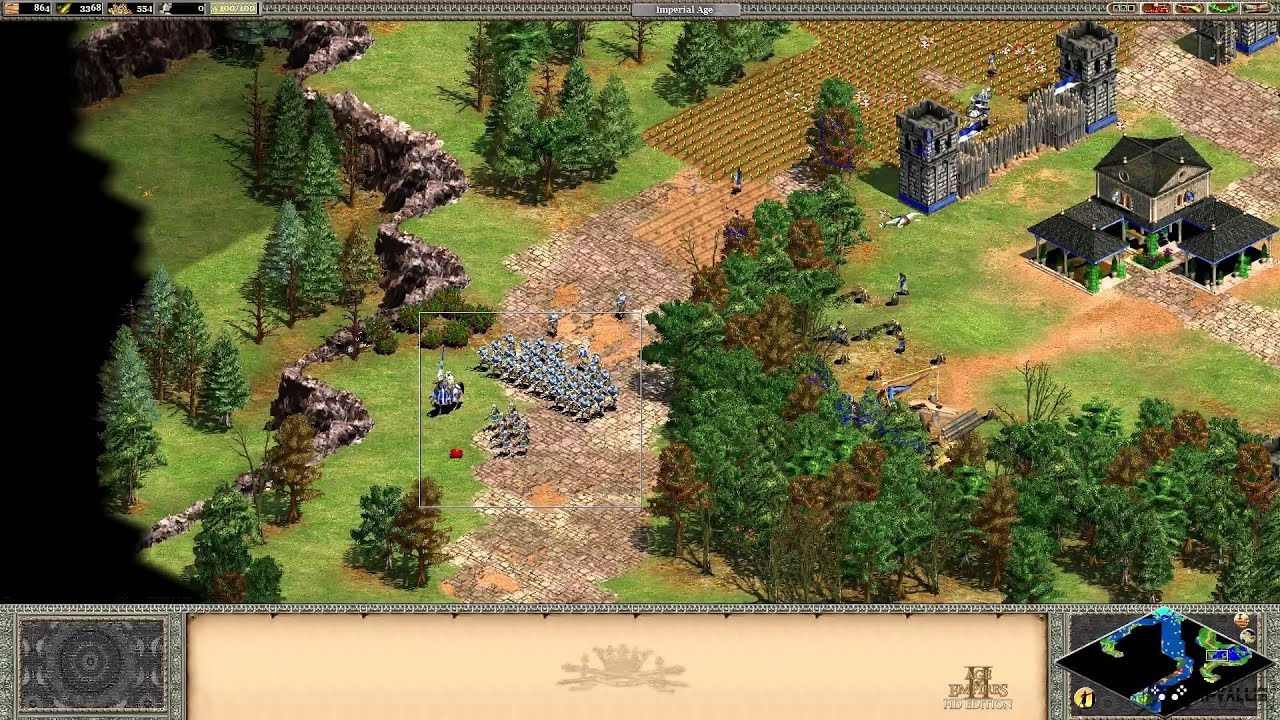 Age Of Empires 2 HD Gameplay [ PC HD ]
