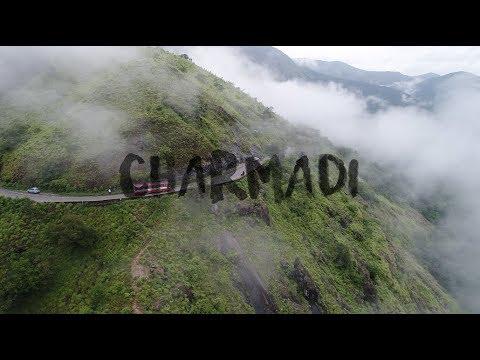 The Western Ghats - Charmadi Ghat   Aerial View  