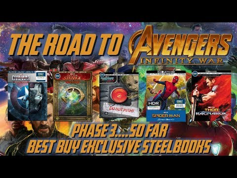 MARVEL CINEMATIC UNIVERSE: PHASE 3 FILMS (SO FAR) // THE ROAD TO AVENGERS:  INFINITY WAR