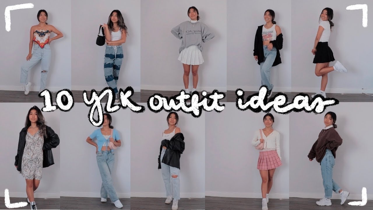 112 y12k inspired outfit ideas// fashion inspiration
