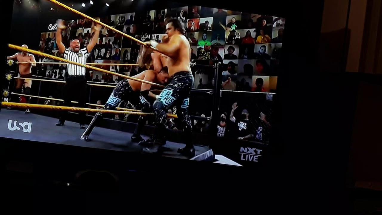 Download NXT: Young Veterans vs. Imperium vs. EverRise: Triple Threat Tag Team Match: part 2