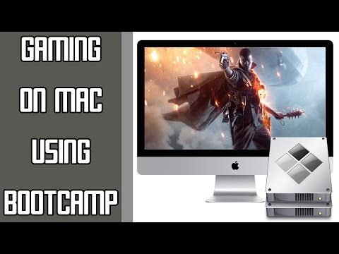 How to play Windows Games on Mac (Boot Camp) - YouTube