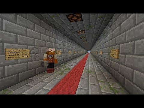 Minecraft Sign dungeon with @leonardr!