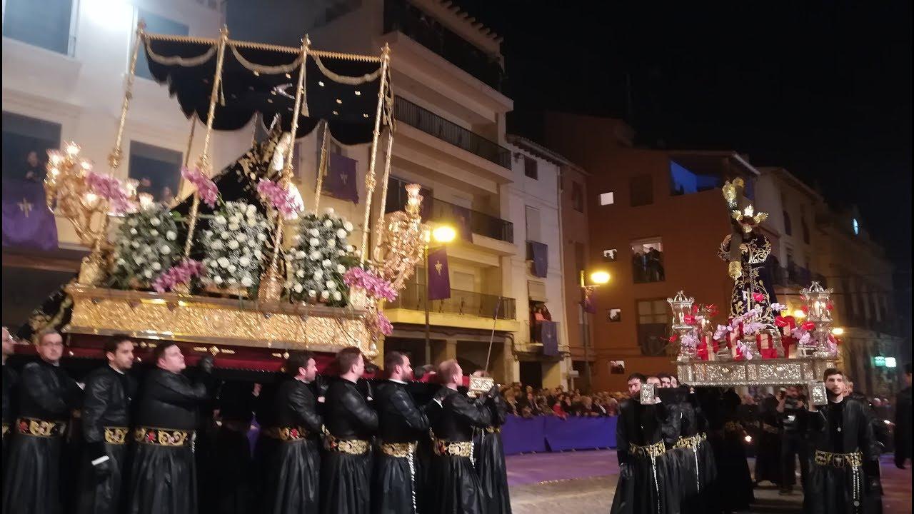 PROCESION ENCUENTRO DOLOROSO SEMANA SANTA SAGUNTINA 2018