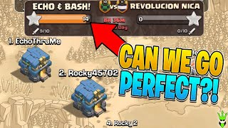 CAN ECHO GAMING HELP ME GET THE PERFECT WAR?! - 5v5 Friday - Clash of Clans