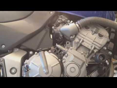 Ремонт натяжителя цепи ГРМ Honda Hornet CBR