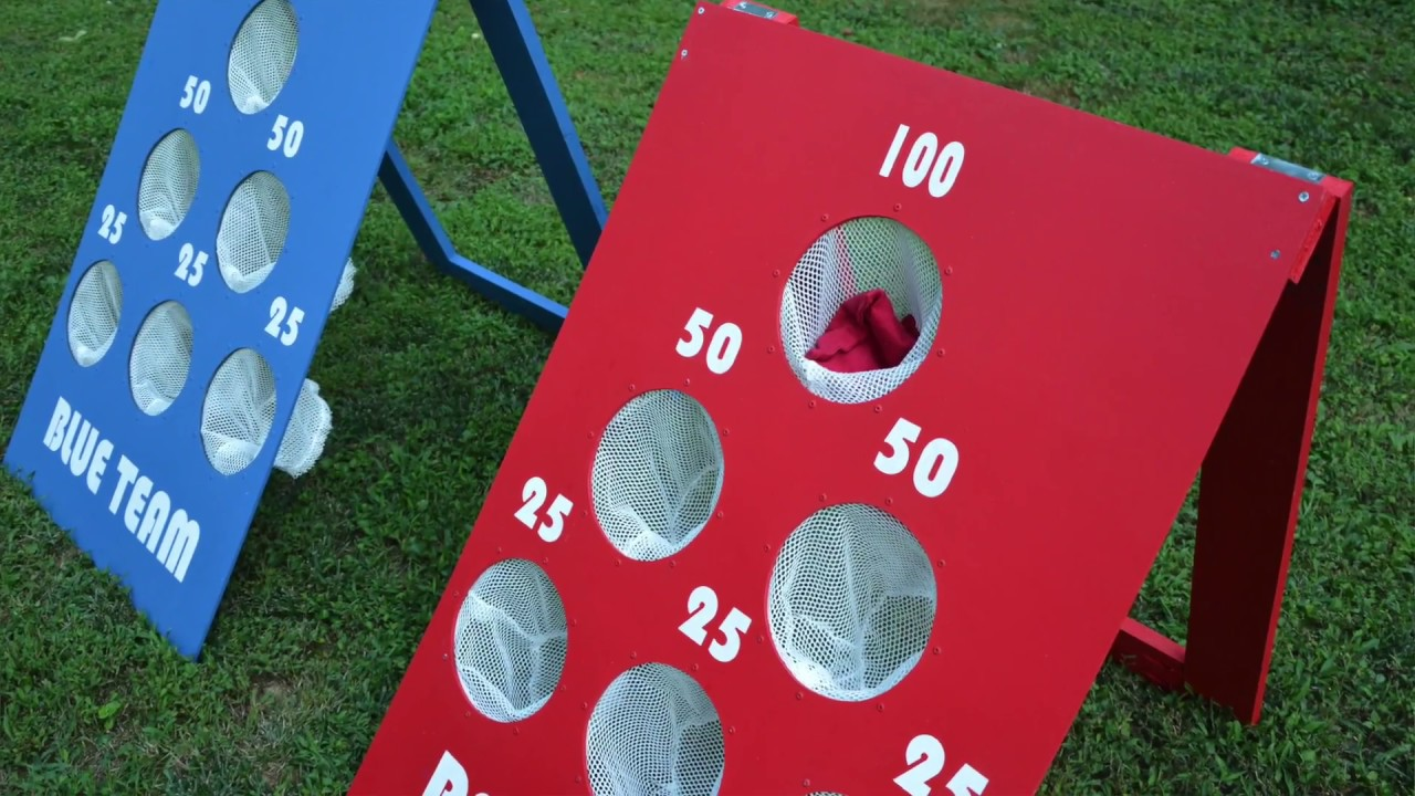 Make A Bean Bag Toss With Thrift Diving