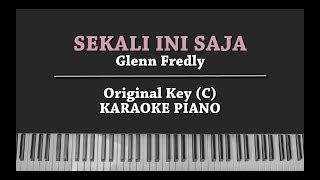 Sekali Ini Saja (KARAOKE PIANO COVER) Glenn Fredly