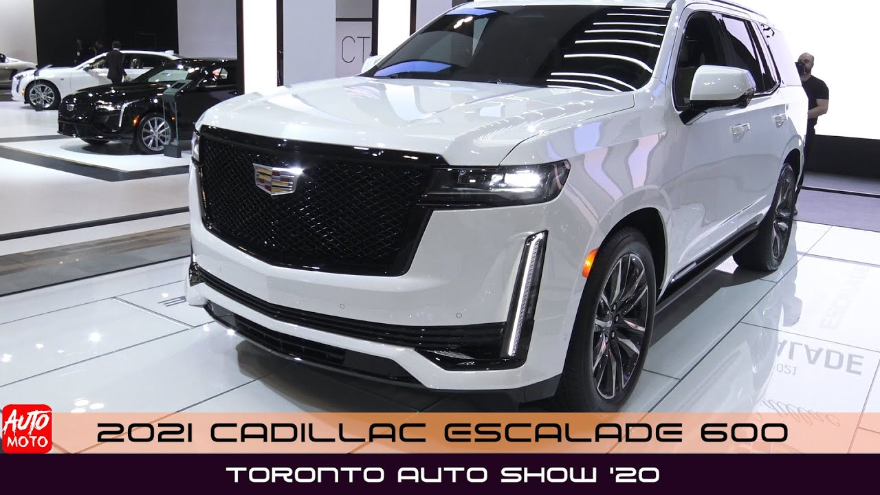 Cadillac Escalade 2021 tại Toronto Auto Show