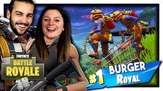 THIS NEW SKIN IS AMAZING! (BURGER BOSS SKIN) FORTNITE MODE CONSTANT DUO
