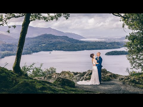 Mel and Darren's Amazingly Fun Wedding Day in The Lake District
