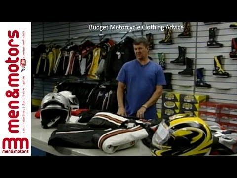 Budget Motorcycle Clothing Advice