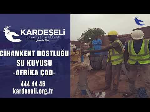 Afrika Çad'da Cihankent Dostluğu Su Kuyumuz