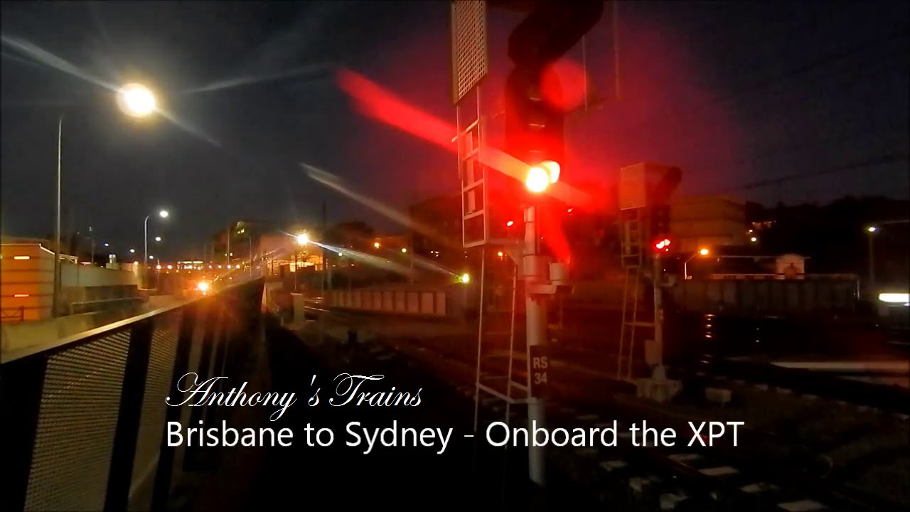 Brisbane to Sydney on the XPT