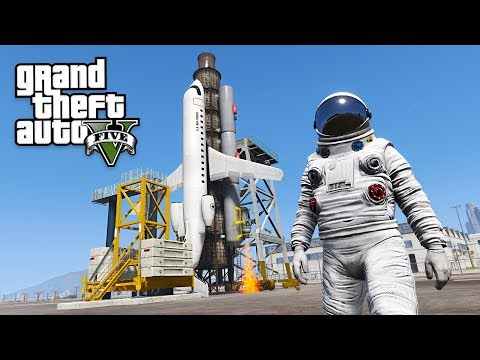 GTA 5 SPACE MOD!! (GTA 5 Mods)