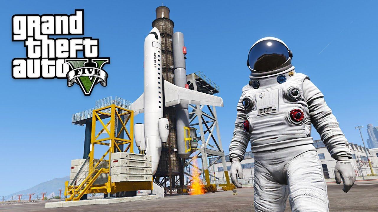 GTA 5 SPACE MOD!! (GTA 5 Mods)