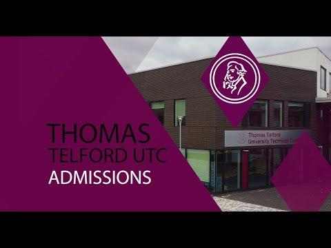Thomas Telford UTC Admissions 2021