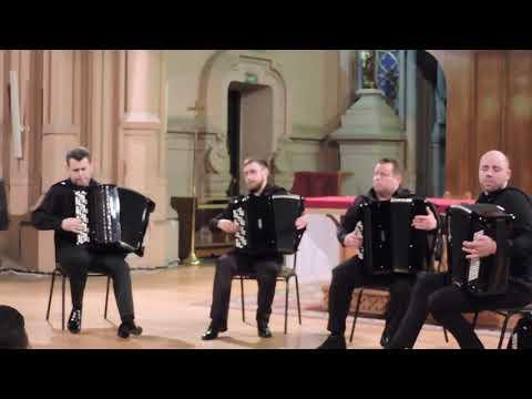 КВАРТЕТ БАЯНИСТОВ, Astor Piazzolla Milonga Del Angel * La Muerte Del Angel, AKKO Quartet