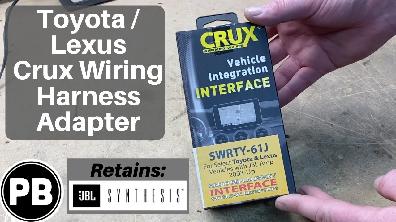 Crux Toyota Wiring Harness Adapter Unboxing | SWRTY-61J