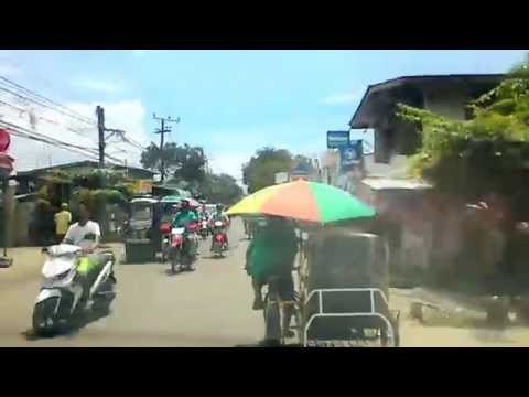 Talisay City, Cebu Road Scene