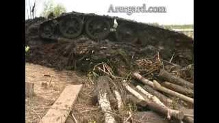 Подъем именного советского танка Т 34 76 Смелый