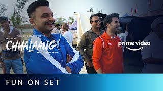 Fun On Set | Chhalaang | Rajkummar Rao, Nushrratt Bharuccha | Hansal Mehta | Amazon Original Movie